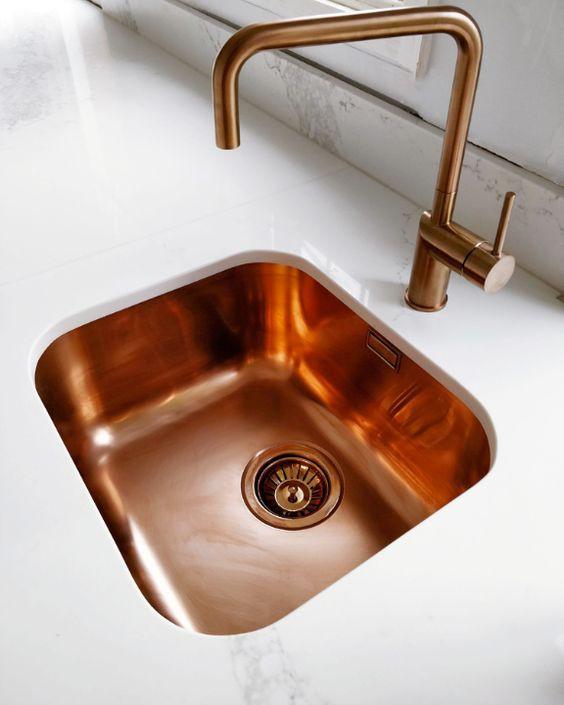 21. Copper Sink