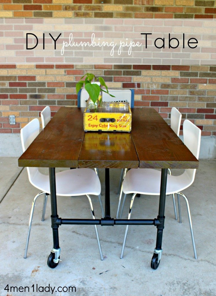 21. DIY Plumbing Pipe Table