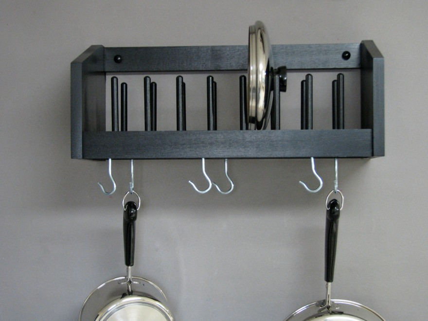 25 DIY Pot Rack Ideas - Easy Ways To Organize Pots And Pans