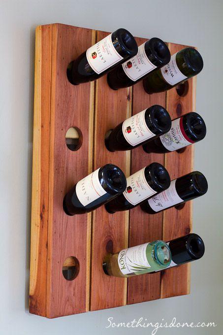 21. DIY Wine Rack Idea