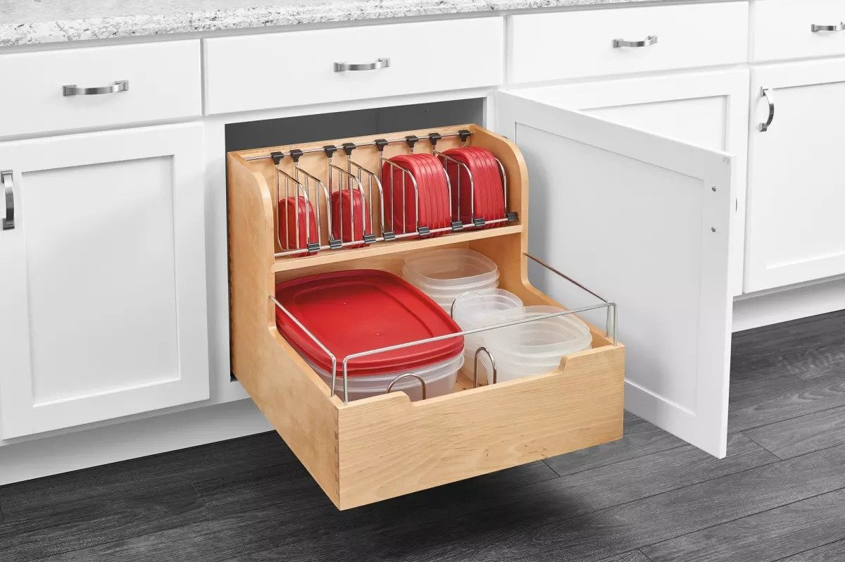 21. Ultimate Pull Out Storage For Under Sink