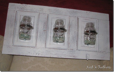 22. DIY Mason Jar Holder
