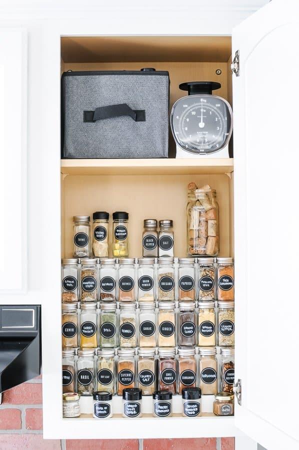 22. DIY Tiered Spice Rack