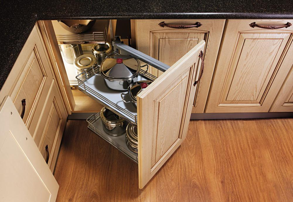 22. Pull Out Kitchen Corner Cabinet