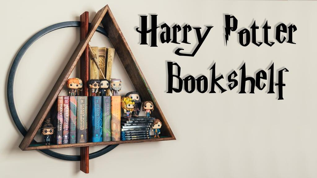 23. Harry Potter Bookshelf