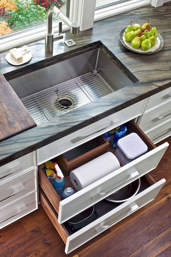 23. Modern Style Pull-Out Drawer