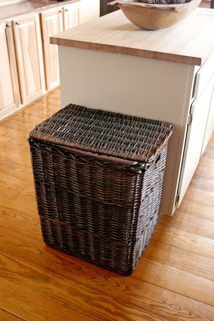 24. Basket For Trash Storage