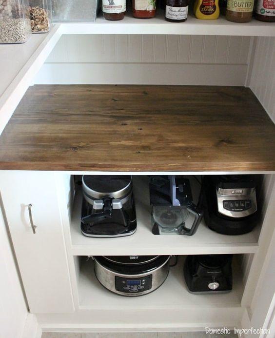 24. Short Single Cabinet For Storage