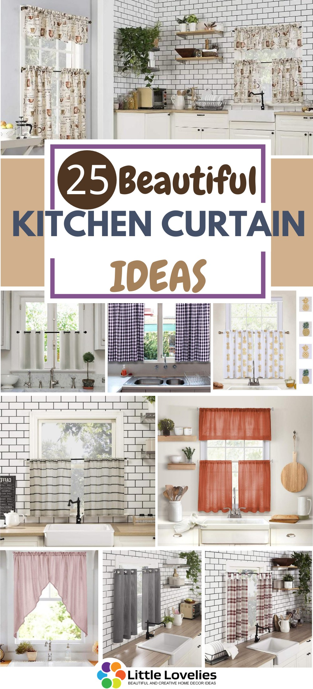 25 Best Kitchen Curtain Ideas You May Also Like