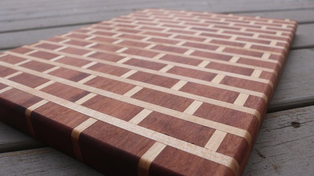 25. DIY Brick And Mortar Cutting Board