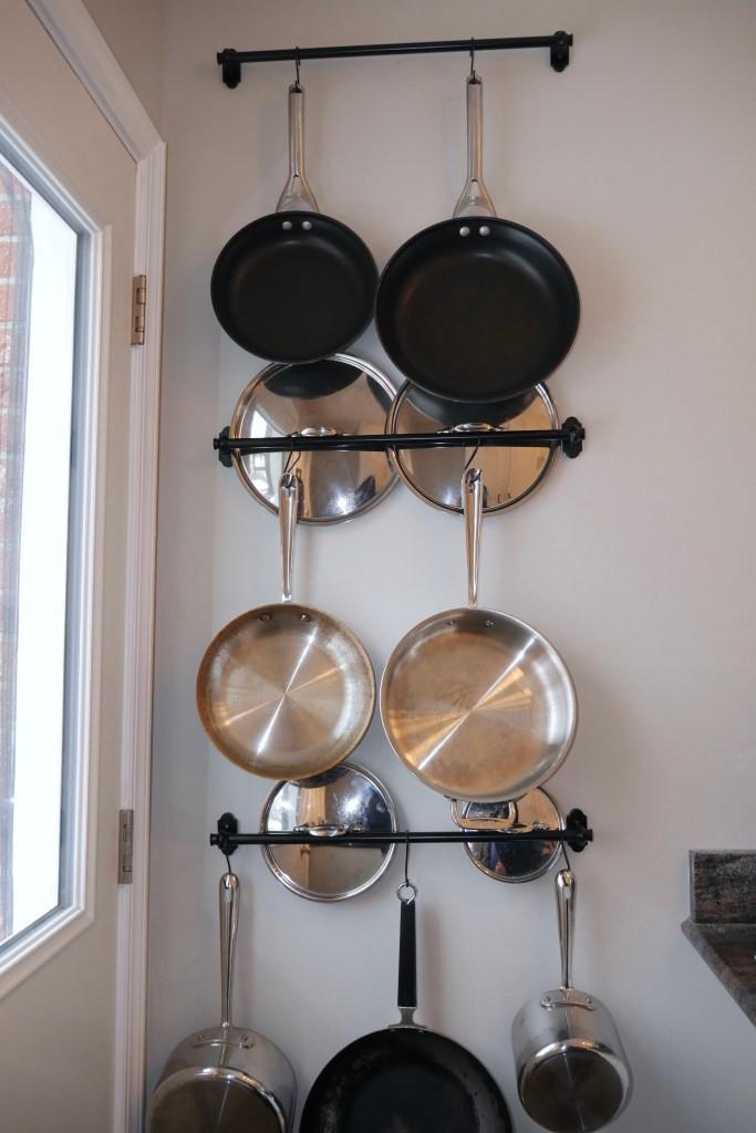 25. Fantastic DIY Pot Rack