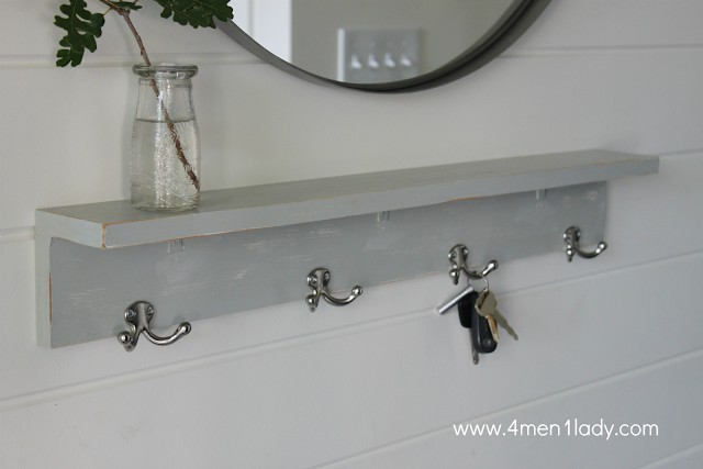 25. Simple Kitchen Shelf DIY