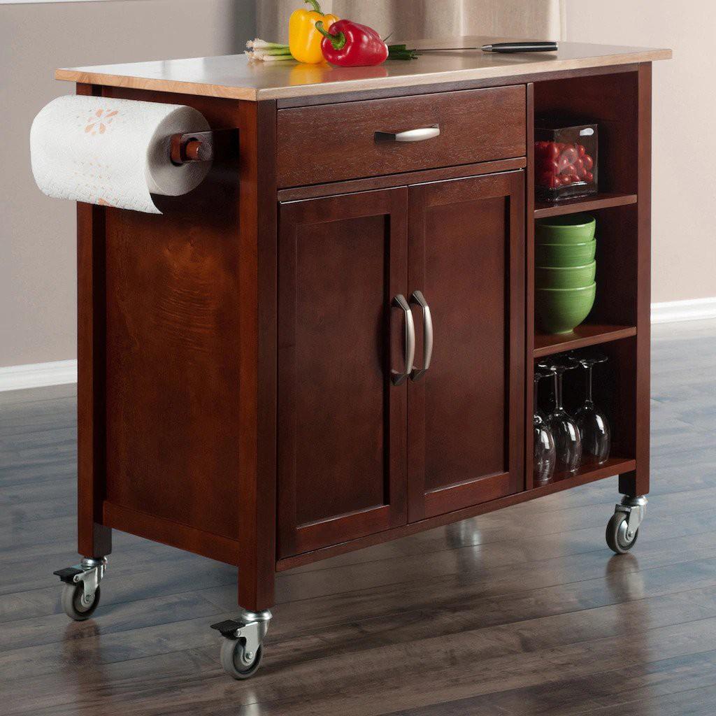 25. Wheelable Kitchen Cart