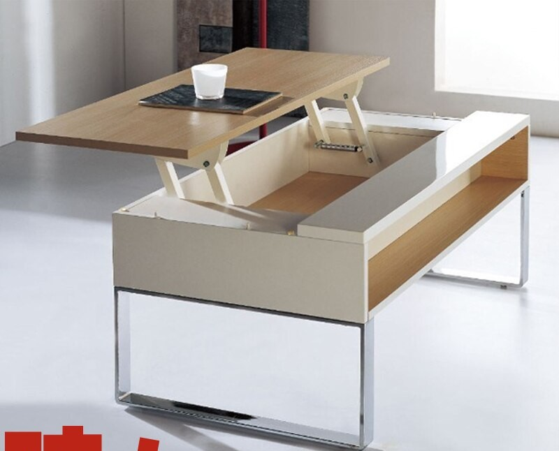 26. Small Sized Coffee Kitchen Table With Storage
