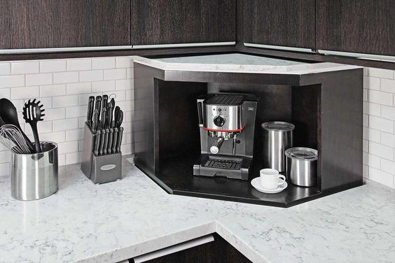 27. Pop-Up Lift For Kitchen Appliance Storage