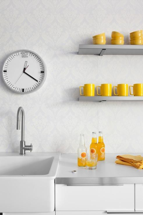 27. Yellow Kitchen Accents