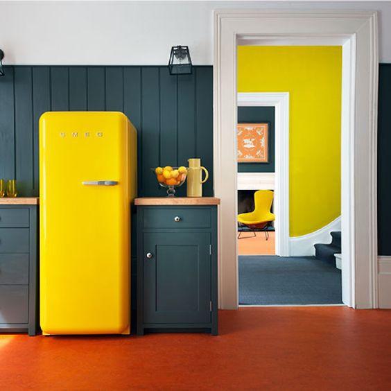 28. Fridge In Yellow