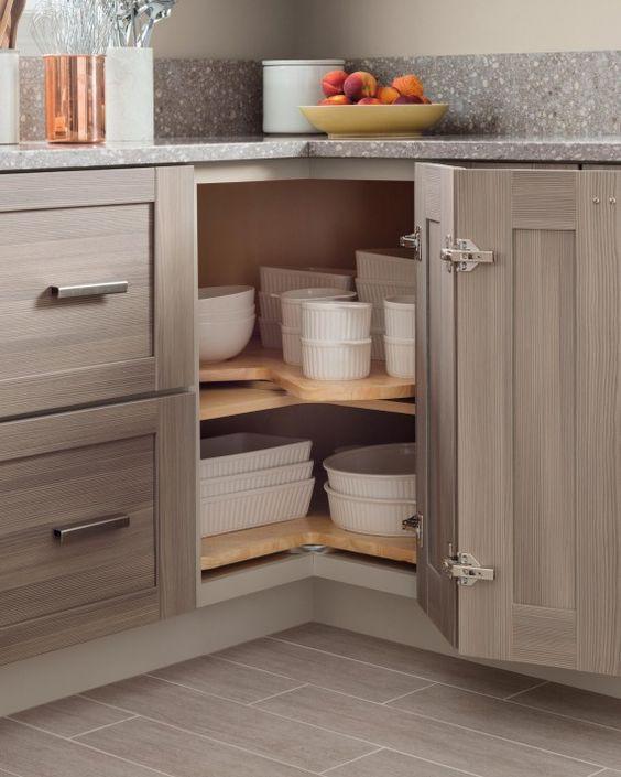 28. Kitchen Corner Storage For Baking Dishes