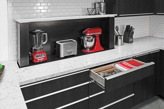 28. Large Kitchen Appliance Storage Lift