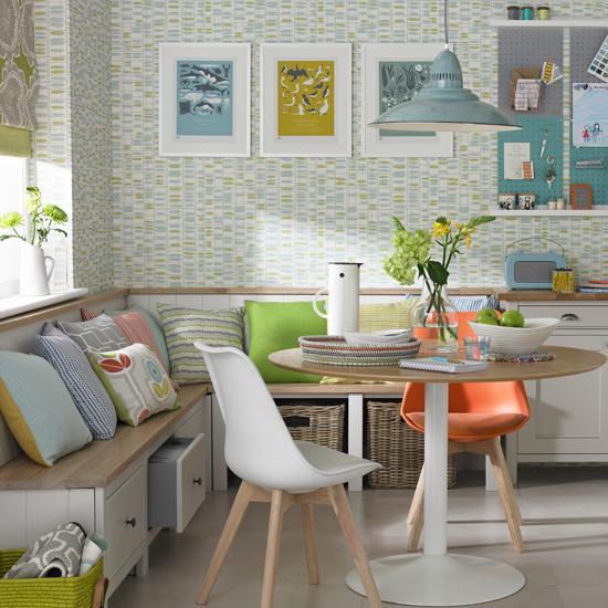 28. Scandi Kitchen With Storage Bench