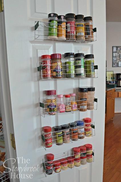 3. DIY $1 Spice Rack