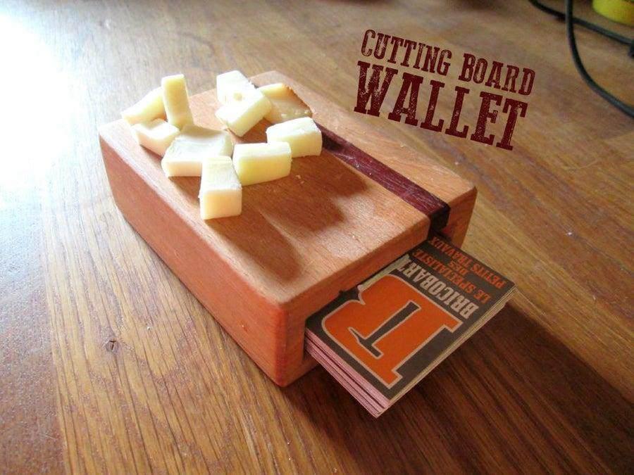 3. DIY Cutting Board Wallet