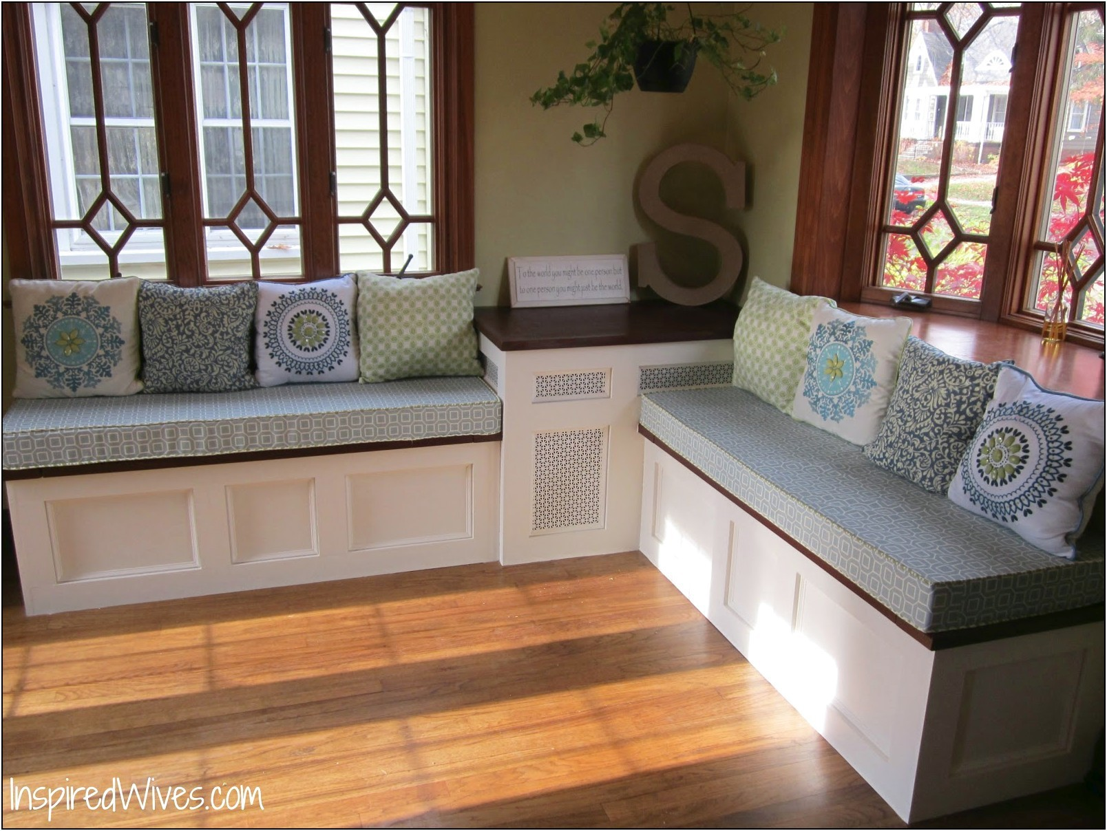 3. Large Kitchen Storage Bench