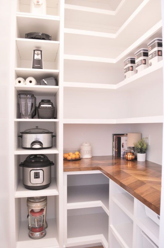3. Pantry For Kitchen Appliance Storage
