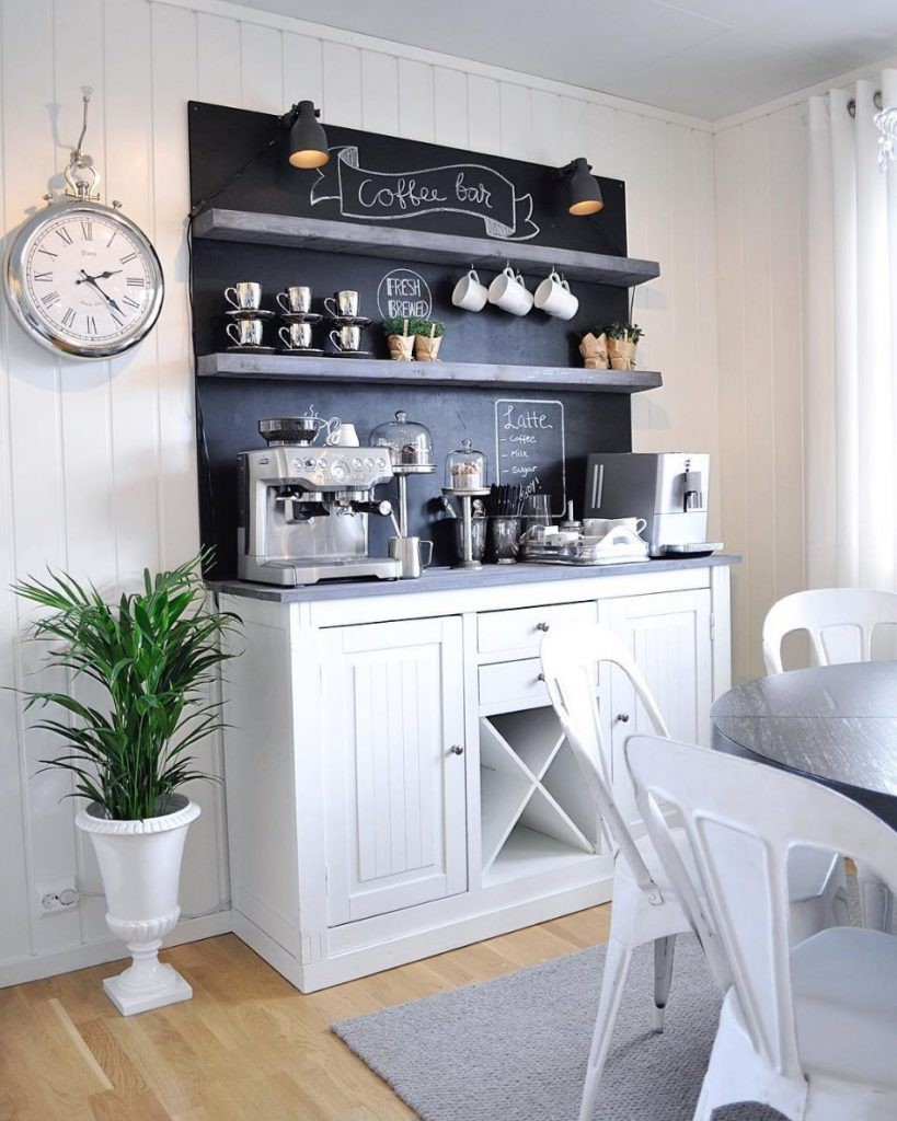 31. Stand-Alone Countertop For Coffee Needs