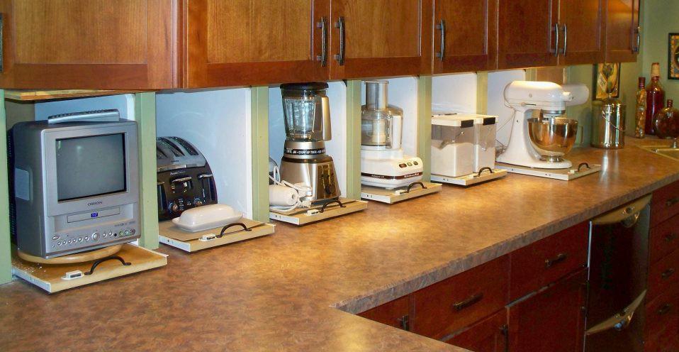 32. Amazing Kitchen Appliance Garage