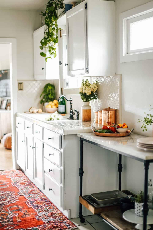 4. DIY Rental Kitchen Modification