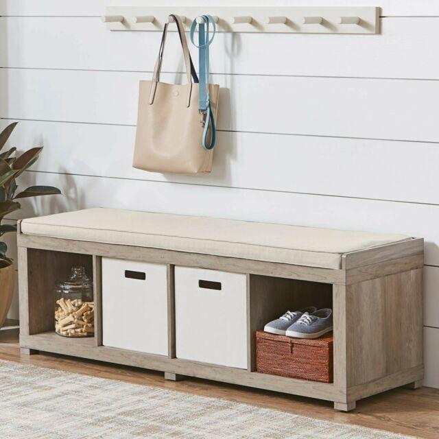 4. Small Kitchen Storage Bench