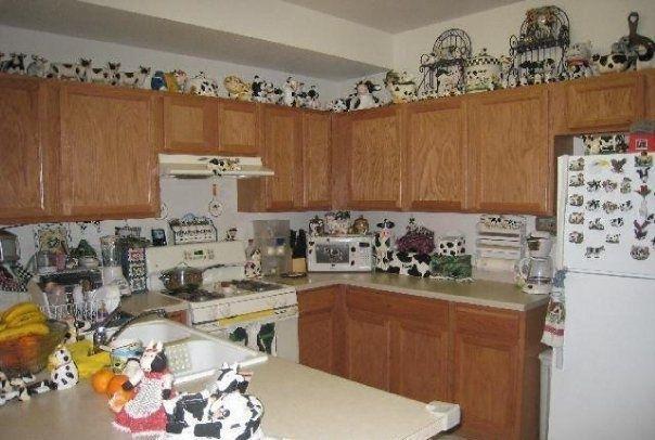 5. Cow Kitchen Clutter