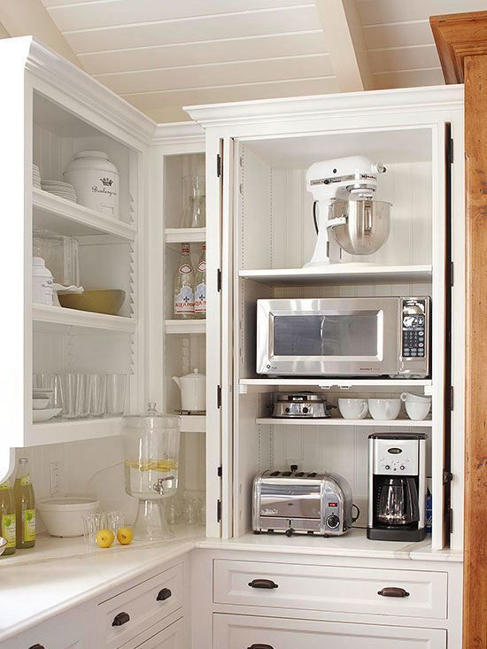 5. Dedicated Hanging Cabinets