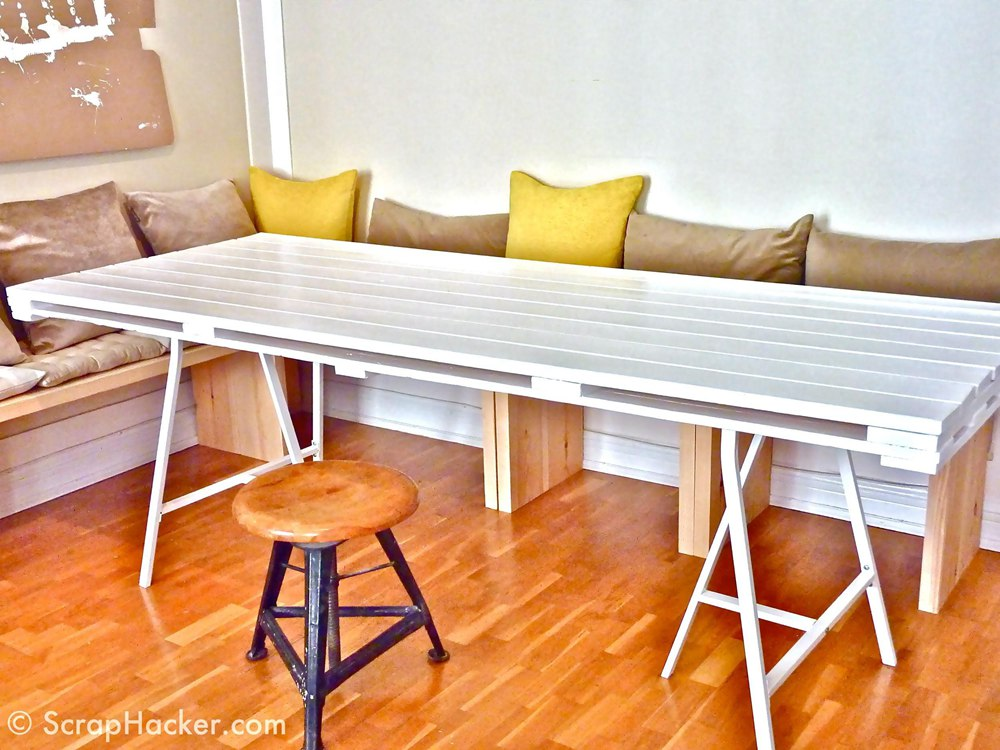 5. Kitchen Table Made On A Budget