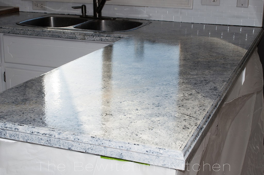 5. Painting Kitchen Countertop With Giani Granite