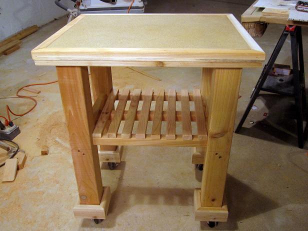 5. Simple Kitchen Cart