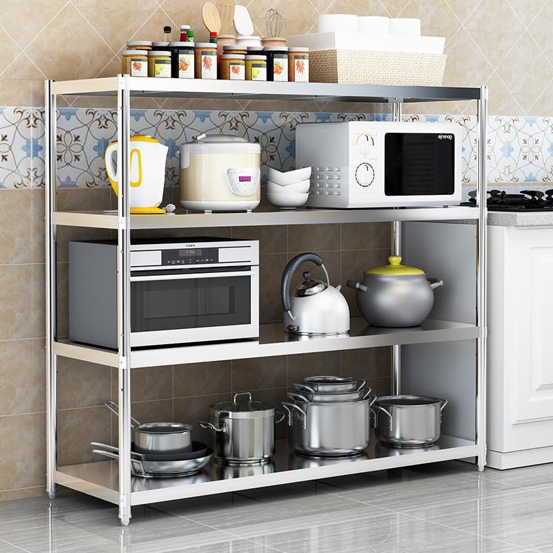 6. Cart Storage For Kitchen Appliances