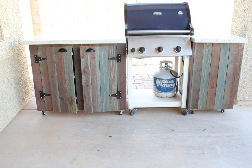 6. DIY Budget-Friendly Outdoor Kitchen