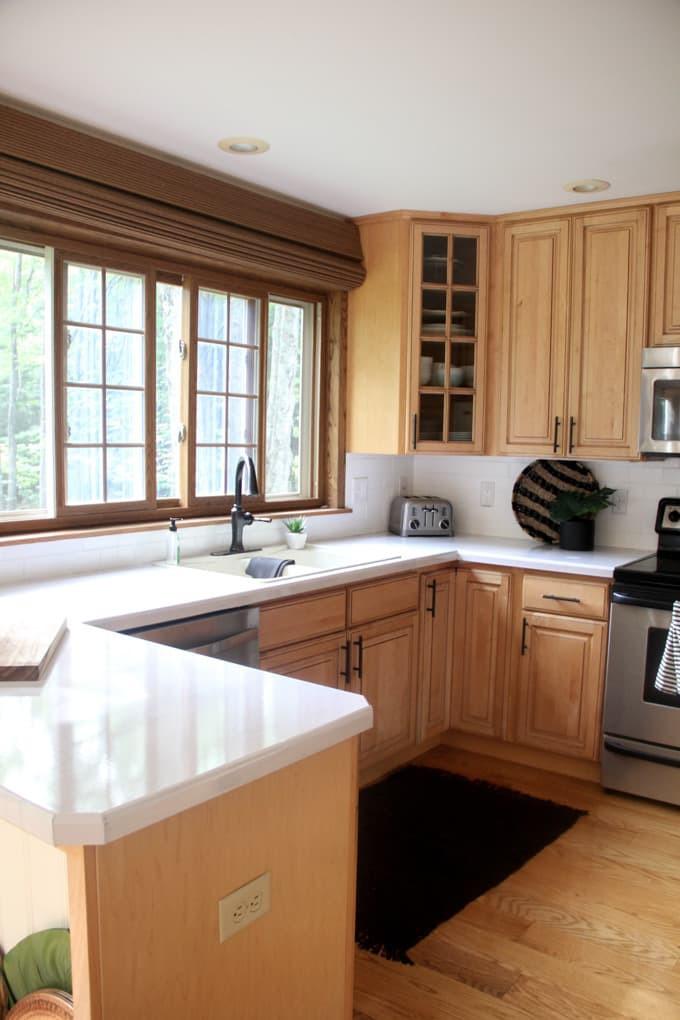 6. DIY Faux Marble Countertop