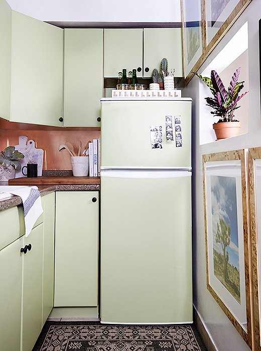 7. Beautiful DIY Small Kitchen Makeover