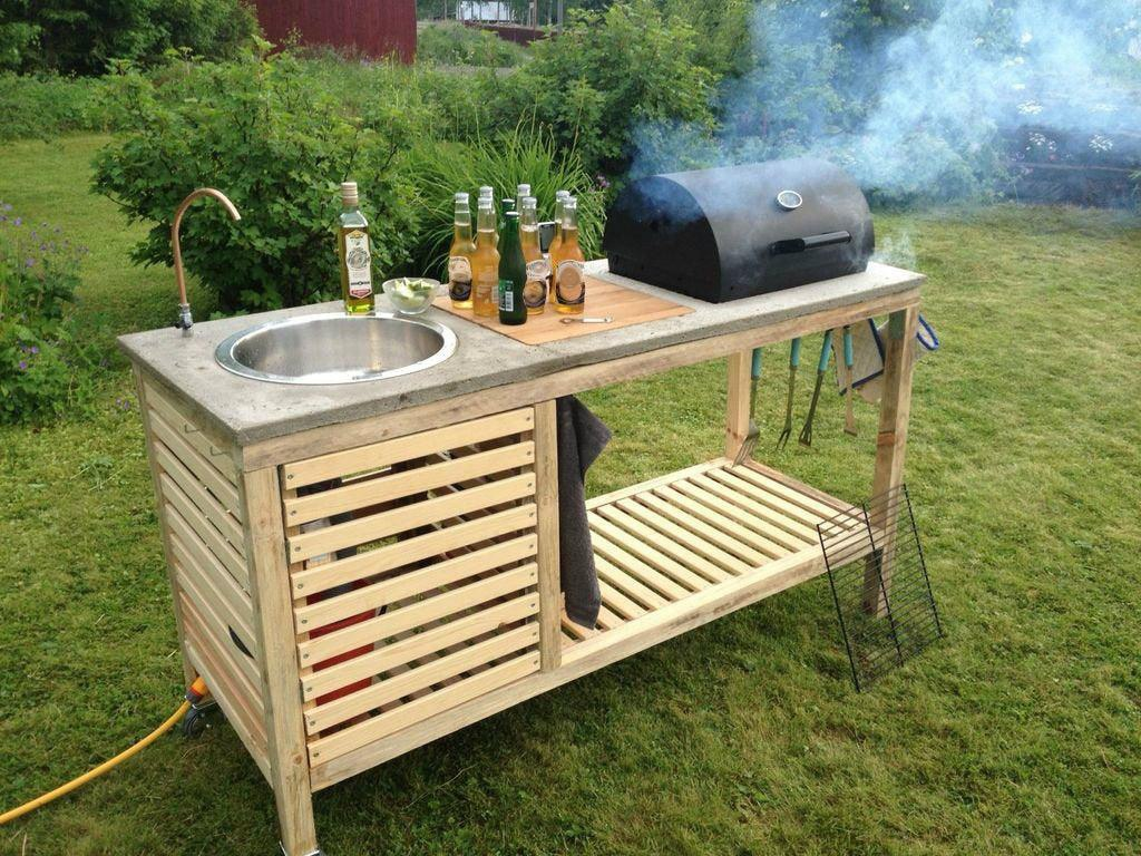 7. Simple Low Budget Outdoor Kitchen