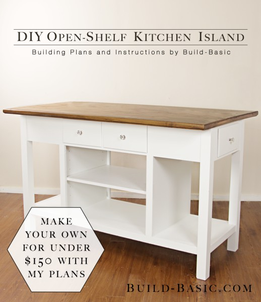 7. Small Kitchen Island With Pull Out Drawers