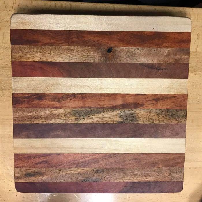 8. DIY Scrap Wood Cutting Board