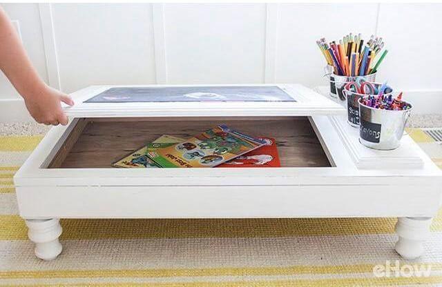 8. DIY Transform Cabinet To Desk