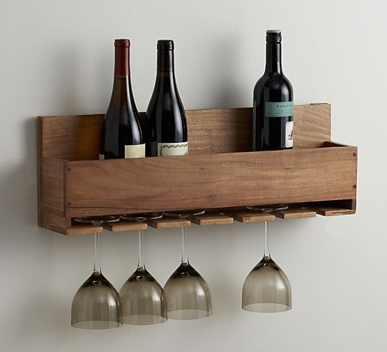 9. DIY Wine Rack