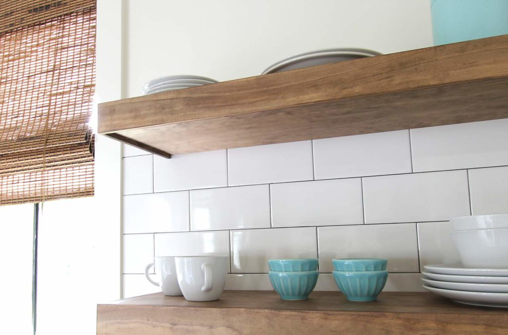 9. Durable Floating Shelves DIY
