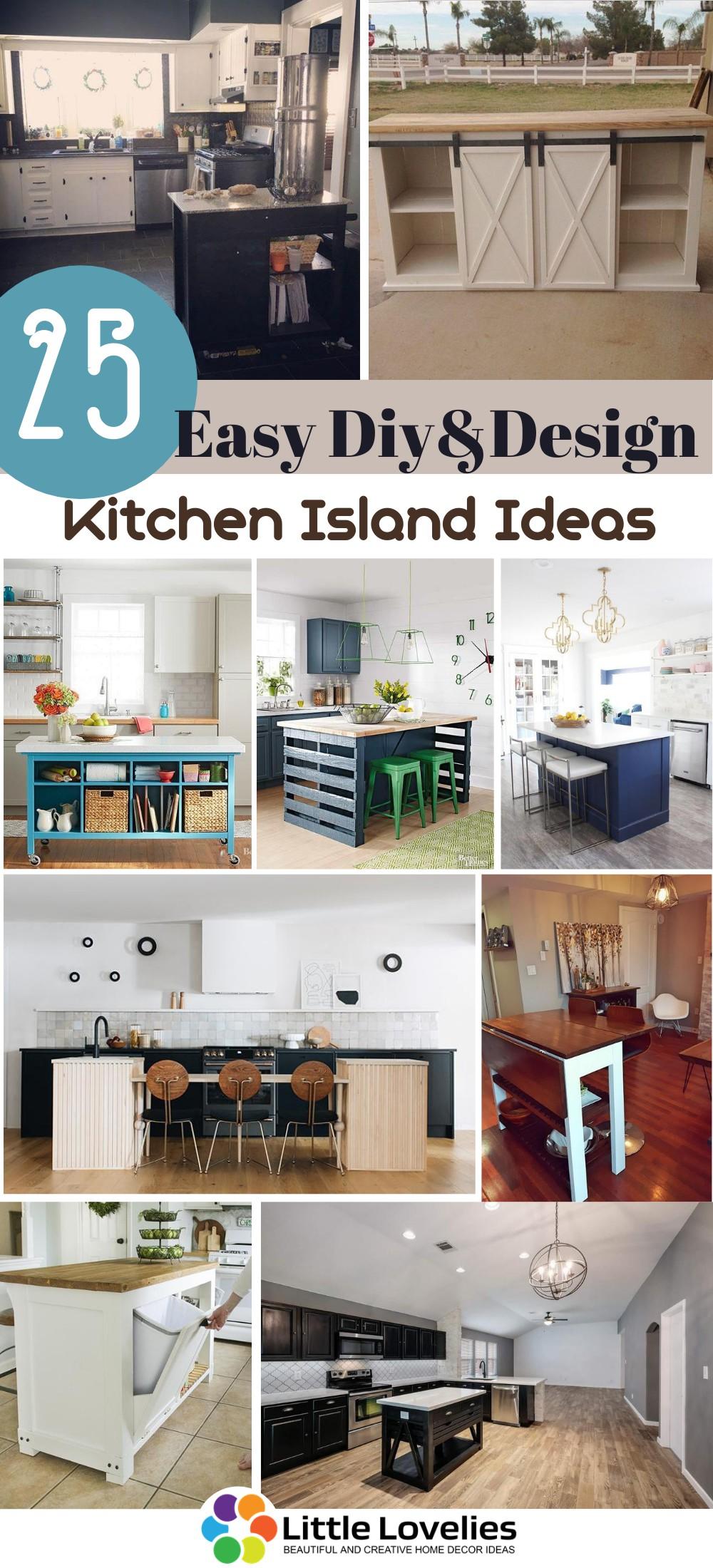 Best Diy Kitchen Island Ideas