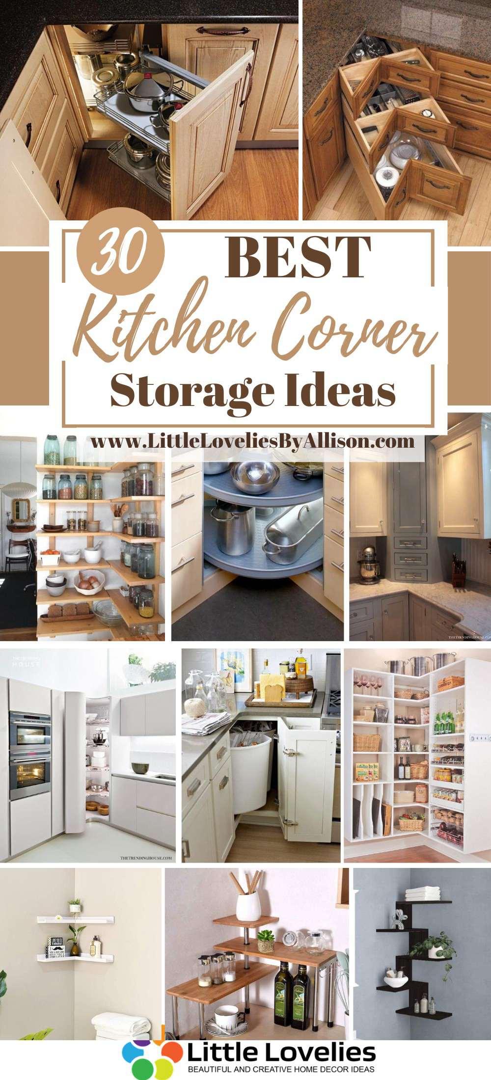 Best Kitchen Corner Storage Ideas