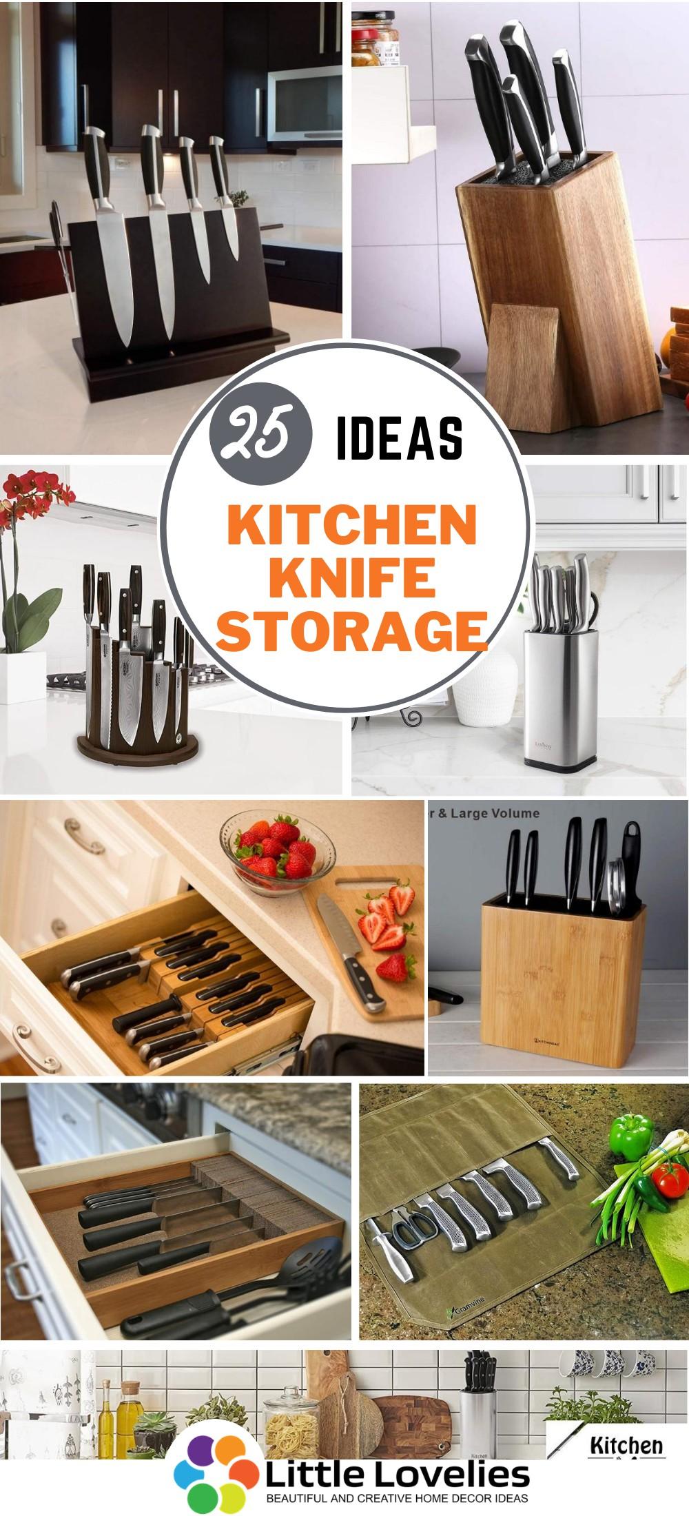 Best Kitchen Knife Storage Ideas